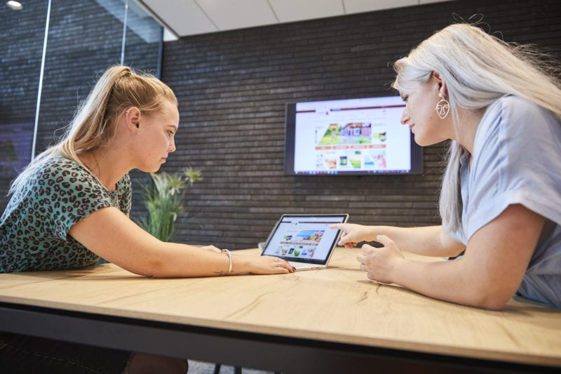 Draadloos Presenteren huddle room