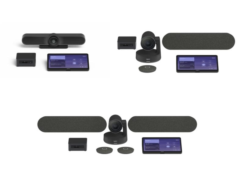 Logitech Tap Microsoft Teams Kits